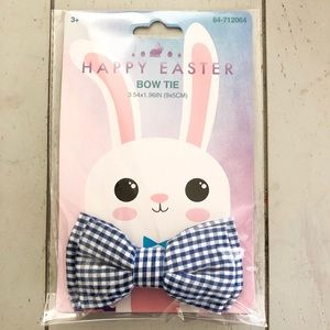 Other - Gingham bow tie